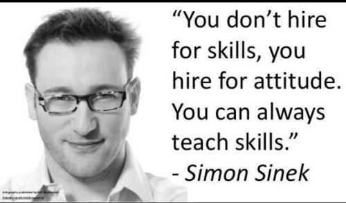 Attitude for skill