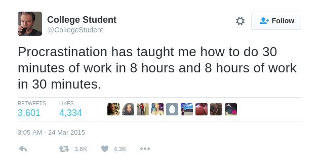 nechodit na vysokou školu