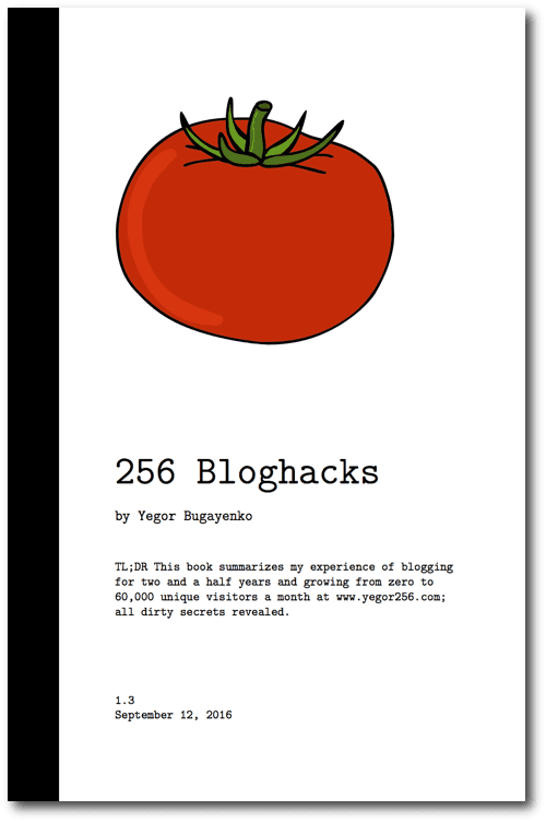 256 Bloghacks Book