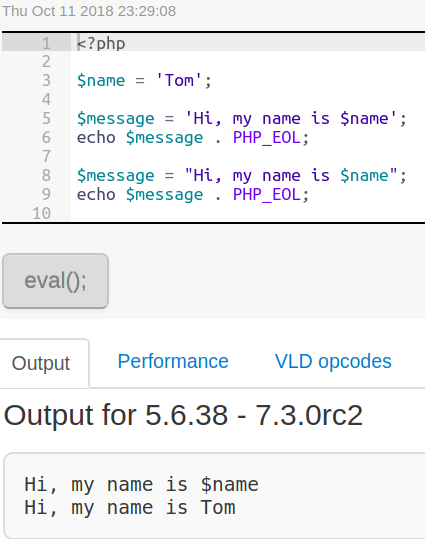 if string contains space php