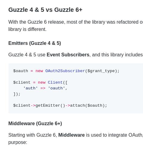 How to upgrade Meetup com API to OAuth2 with Guzzle | Tomas